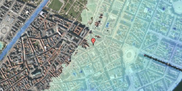 Stomflod og havvand på Gammel Mønt 23, 1117 København K