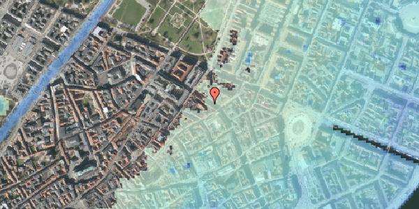 Stomflod og havvand på Gammel Mønt 25, 5. , 1117 København K