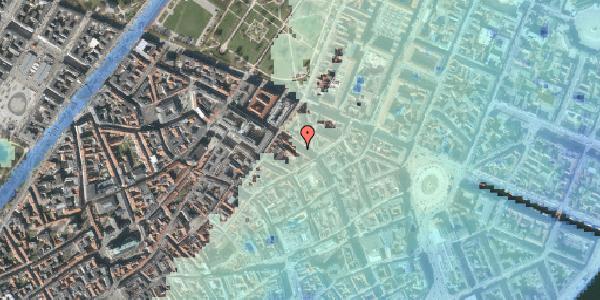 Stomflod og havvand på Gammel Mønt 27, 1. , 1117 København K