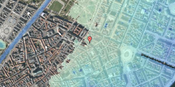 Stomflod og havvand på Gammel Mønt 31, kl. , 1117 København K