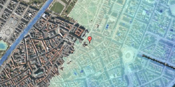 Stomflod og havvand på Gammel Mønt 35, 1. , 1117 København K