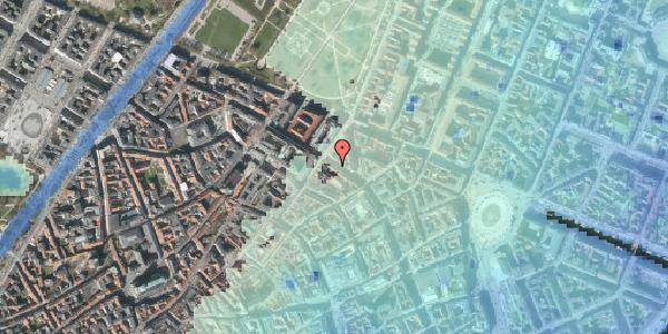 Stomflod og havvand på Gammel Mønt 37, kl. , 1117 København K