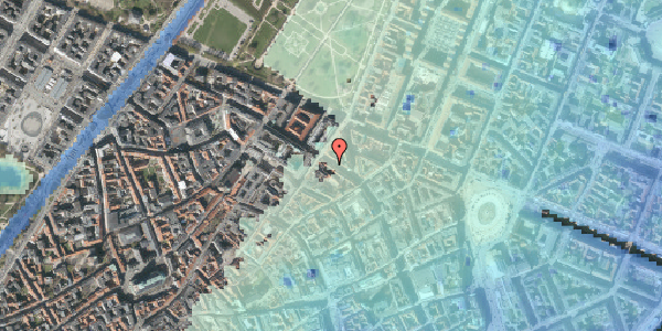 Stomflod og havvand på Gammel Mønt 37, st. , 1117 København K