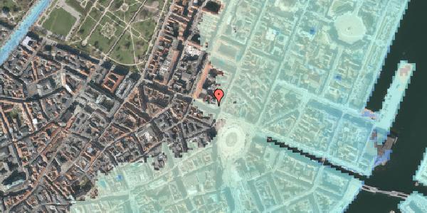 Stomflod og havvand på Gothersgade 2, kl. , 1123 København K
