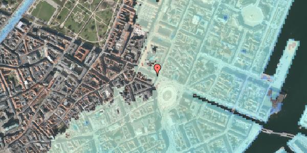 Stomflod og havvand på Gothersgade 3, kl. , 1123 København K