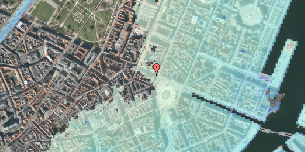 Stomflod og havvand på Gothersgade 3, st. , 1123 København K