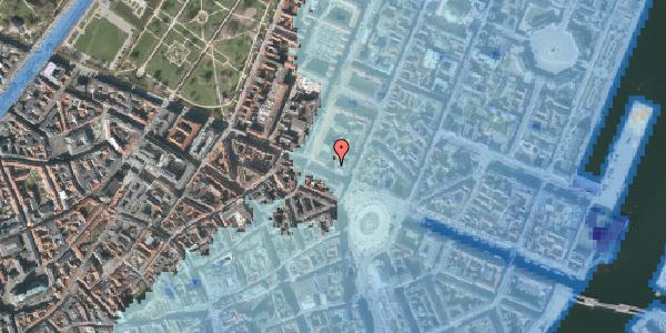 Stomflod og havvand på Gothersgade 8B, 3. , 1123 København K