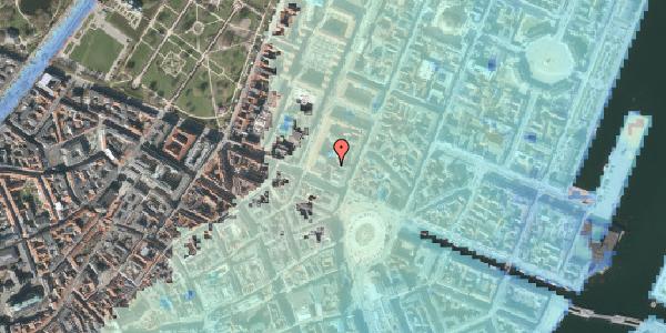 Stomflod og havvand på Gothersgade 8C, 1123 København K