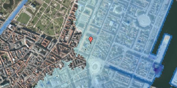 Stomflod og havvand på Gothersgade 8K, kl. , 1123 København K