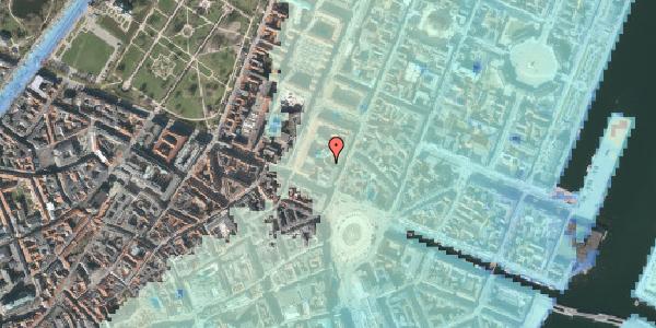Stomflod og havvand på Gothersgade 8L, st. th, 1123 København K