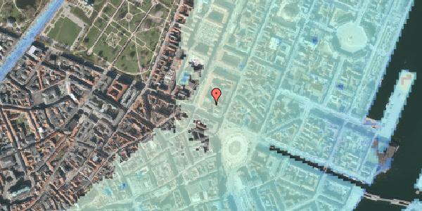 Stomflod og havvand på Gothersgade 10C, 2. tv, 1123 København K