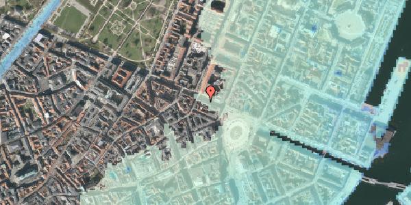 Stomflod og havvand på Gothersgade 13, kl. 2, 1123 København K