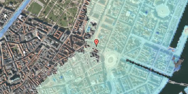 Stomflod og havvand på Gothersgade 17A, 3. , 1123 København K
