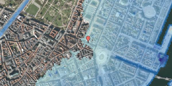 Stomflod og havvand på Gothersgade 19, kl. , 1123 København K