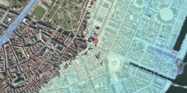 Stomflod og havvand på Gothersgade 23, 3. , 1123 København K