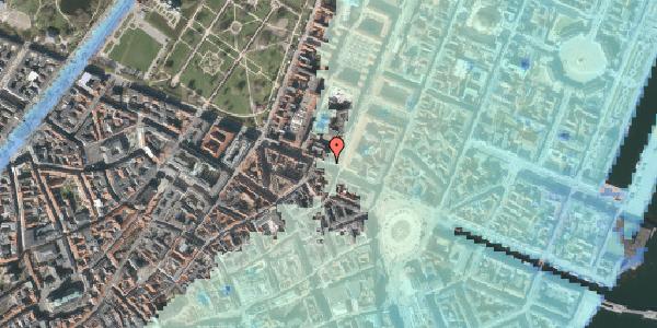 Stomflod og havvand på Gothersgade 26, 3. tv, 1123 København K