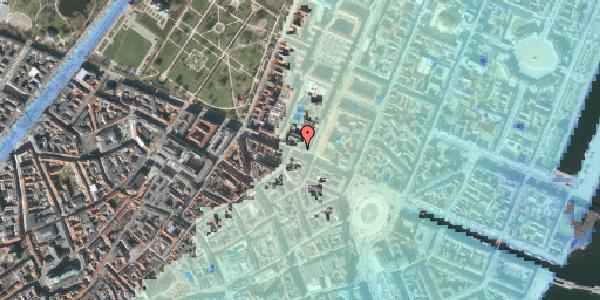Stomflod og havvand på Gothersgade 28, st. th, 1123 København K