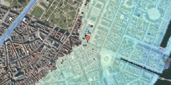 Stomflod og havvand på Gothersgade 29, 1. tv, 1123 København K