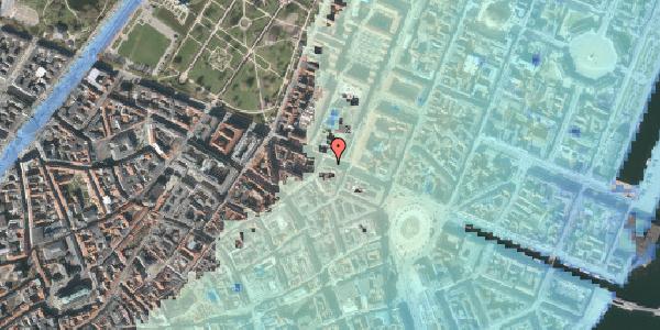 Stomflod og havvand på Gothersgade 29, 3. tv, 1123 København K