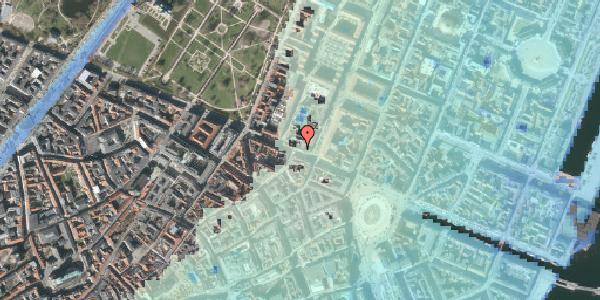 Stomflod og havvand på Gothersgade 30, 4. , 1123 København K