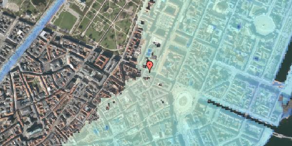 Stomflod og havvand på Gothersgade 31, st. tv, 1123 København K