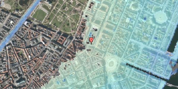 Stomflod og havvand på Gothersgade 32, 2. , 1123 København K