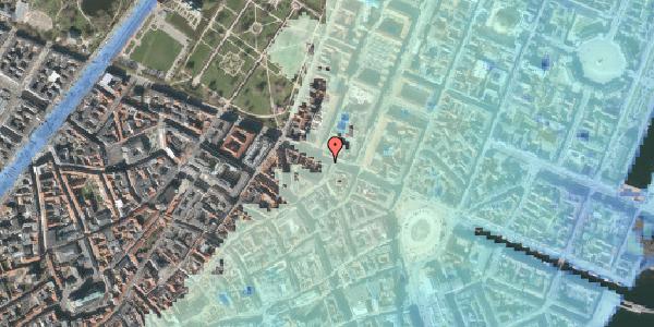 Stomflod og havvand på Gothersgade 33A, 2. tv, 1123 København K