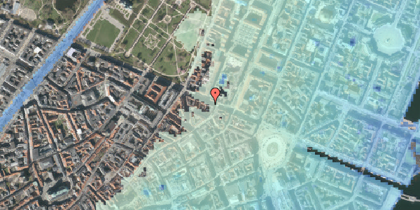 Stomflod og havvand på Gothersgade 33B, 3. , 1123 København K