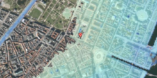 Stomflod og havvand på Gothersgade 34, 2. , 1123 København K