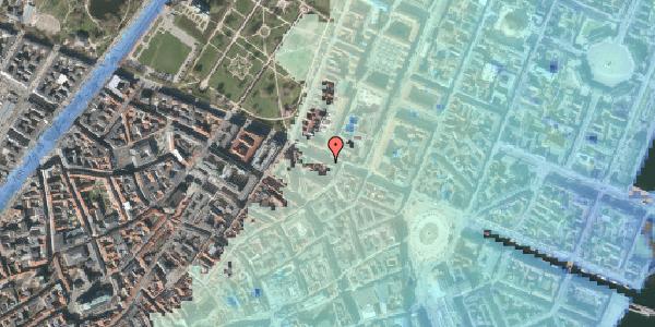 Stomflod og havvand på Gothersgade 35, 3. , 1123 København K