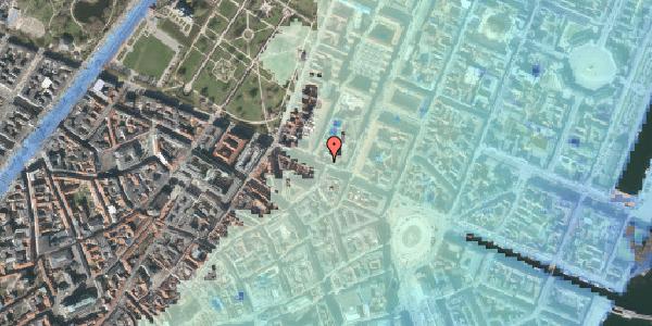 Stomflod og havvand på Gothersgade 36, 4. , 1123 København K