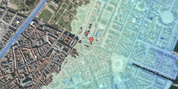 Stomflod og havvand på Gothersgade 37, kl. , 1123 København K