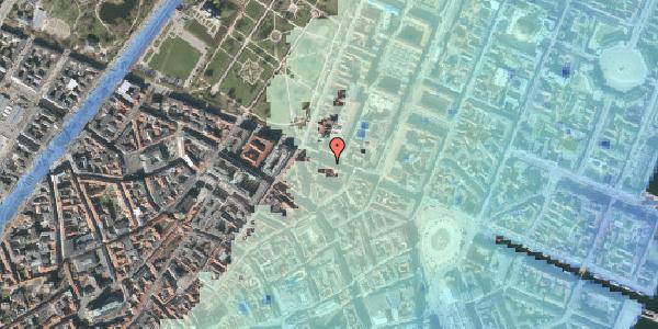Stomflod og havvand på Gothersgade 39, st. tv, 1123 København K