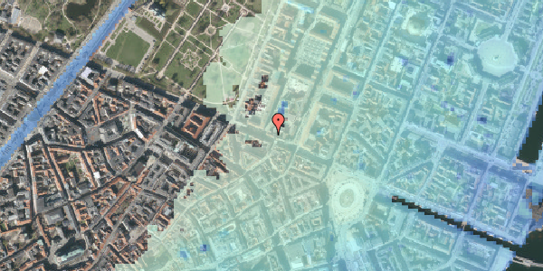 Stomflod og havvand på Gothersgade 40, 2. th, 1123 København K