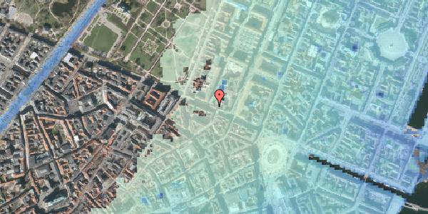 Stomflod og havvand på Gothersgade 40, 2. tv, 1123 København K