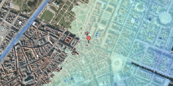 Stomflod og havvand på Gothersgade 41, 2. tv, 1123 København K