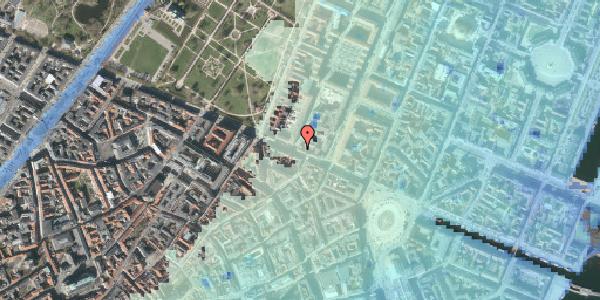 Stomflod og havvand på Gothersgade 42, 4. tv, 1123 København K