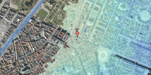 Stomflod og havvand på Gothersgade 43, 1. , 1123 København K