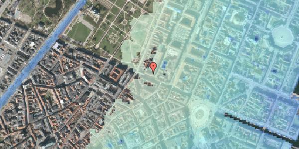 Stomflod og havvand på Gothersgade 52, st. tv, 1123 København K