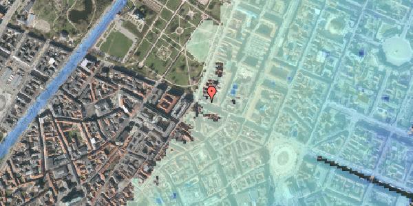 Stomflod og havvand på Gothersgade 54, kl. 1, 1123 København K