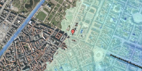 Stomflod og havvand på Gothersgade 56, st. , 1123 København K