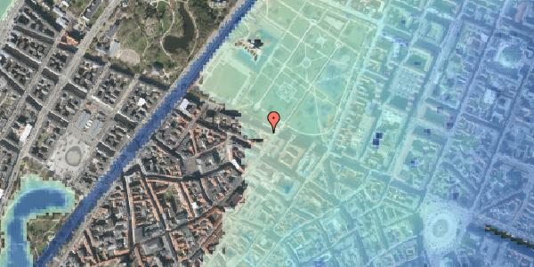 Stomflod og havvand på Gothersgade 87, 3. , 1123 København K