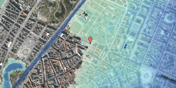 Stomflod og havvand på Gothersgade 89, 3. , 1123 København K