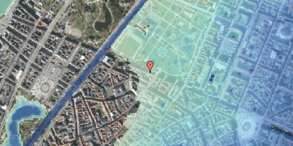 Stomflod og havvand på Gothersgade 91A, st. , 1123 København K