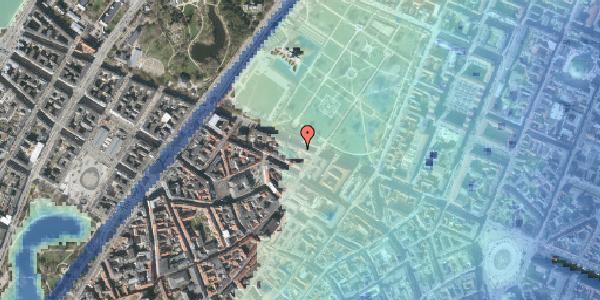 Stomflod og havvand på Gothersgade 91, 2. tv, 1123 København K