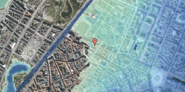 Stomflod og havvand på Gothersgade 93C, 2. , 1123 København K