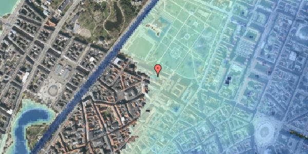 Stomflod og havvand på Gothersgade 93D, kl. tv, 1123 København K