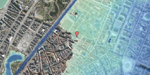 Stomflod og havvand på Gothersgade 93, 4. tv, 1123 København K