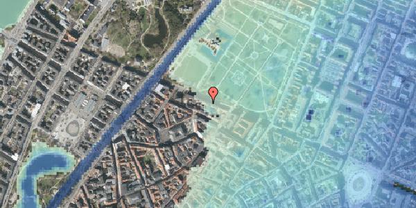Stomflod og havvand på Gothersgade 97, kl. , 1123 København K
