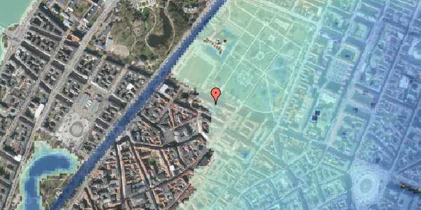 Stomflod og havvand på Gothersgade 101A, 1. , 1123 København K